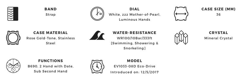 Citizen EV1033-08D_Features